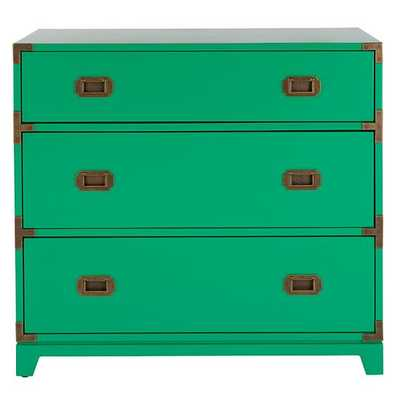 Kelly Green Campaign Dresser - Land of Nod