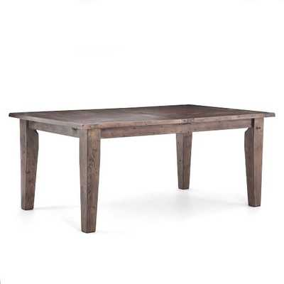 Pine Expandable Dining Table - Sundried Finish - West Elm