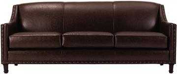 Rockford Leather Sofa - Home Decorators