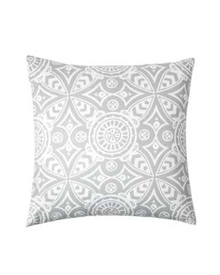 "Medallion Euro Sham 26""SQ Inserts sold separately - Serena and Lily"