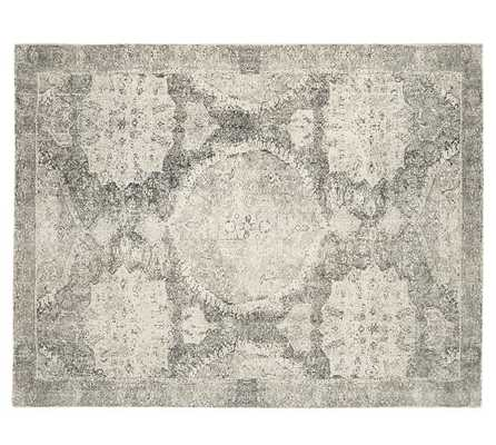 Barret Printed Rug - Gray - 9' x 12' - Pottery Barn