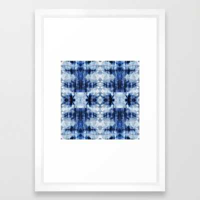 "ART PRINT/ VECTOR WHITE SMALL (15"" X 21"")FRAMED - Society6"