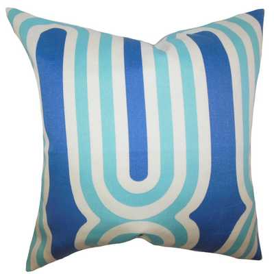 "Persis Geometric Throw Pillow -18"" x 18""- Insert included - AllModern"