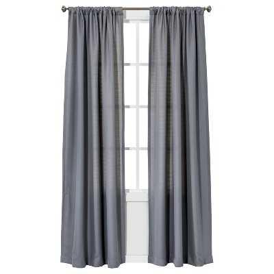 "Chesapeake Curtain Panel - Gray - 42""W x 84""L - Target"