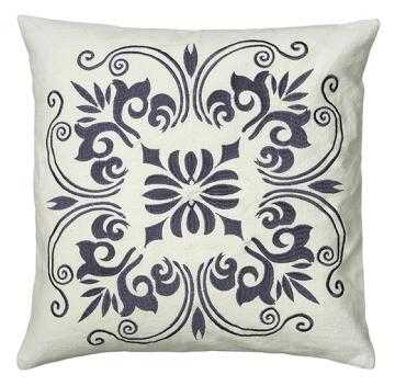PALI EMBROIDERED PILLOW - Home Decorators