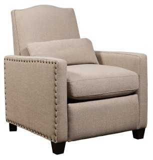 Bruce Recliner, Natural - One Kings Lane