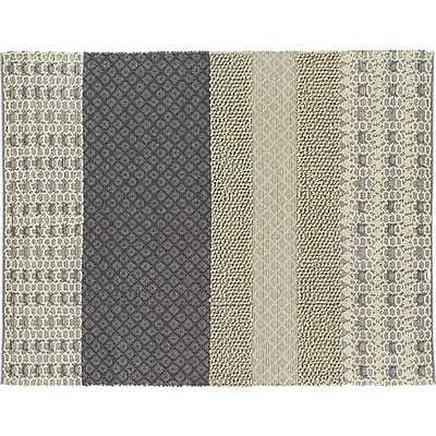 neutral texturas rug - CB2