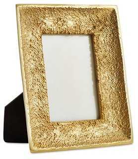 Edmonda Frame, 4x6, Gold - One Kings Lane