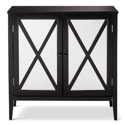 "Thresholdâ""¢ Wooddale Two Door Mirrored Cabinet - Target"