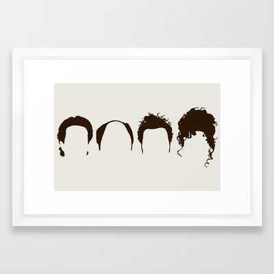 Seinfeld Hair - Society6
