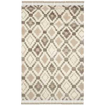 Safavieh Hand-Woven Kenya Natural Wool Rug (9' x 12') - Overstock