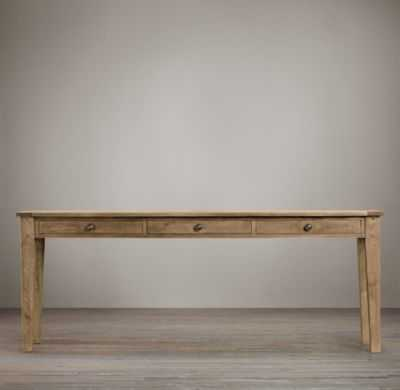 1900S BOULANGERIE CONSOLE WITH STORAGE - RH