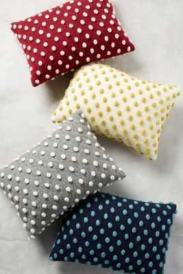 Woolen Pom Pillow - Anthropologie