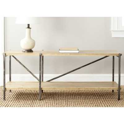 Safavieh Theodore Natural Console Table - Overstock
