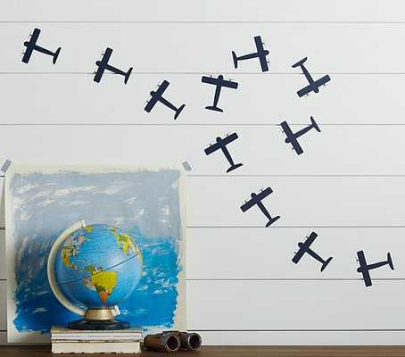 Airplane Decal - Set of 20 - Pottery Barn Kids