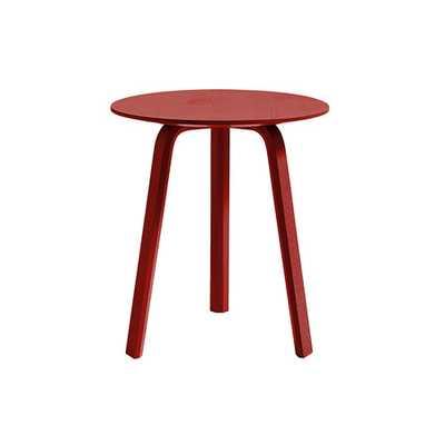 HAY Bella Coffee Table - Coral - 45x49cm - us.amara.com