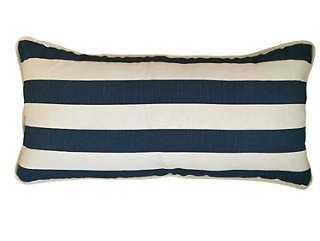 Leon Cotton Pillow - One Kings Lane