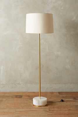 Radiant Alabaster Floor Lamp - Anthropologie