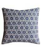 Navy Geometric Starburst Throw Pillow (Indoor/Outdoor) - High Street Market