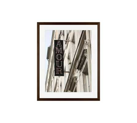 Montmartre-Amour Framed Print by Rebecca Plotnick - Pottery Barn