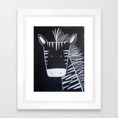 No. 0013 - Modern Kids and Nursery Art - The Zebra - Society6