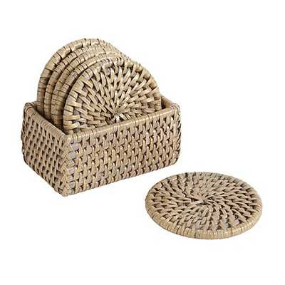 Piper Woven Coasters - Set of 6 - Ballard Designs