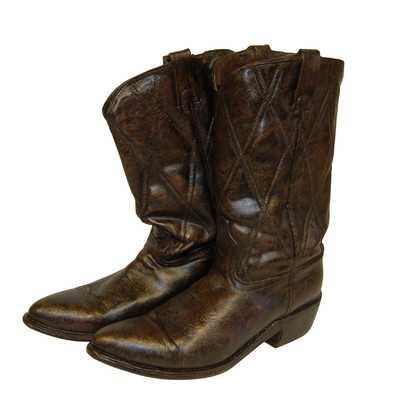 Cowboy Boots Statueby Craft-Tex - Wayfair
