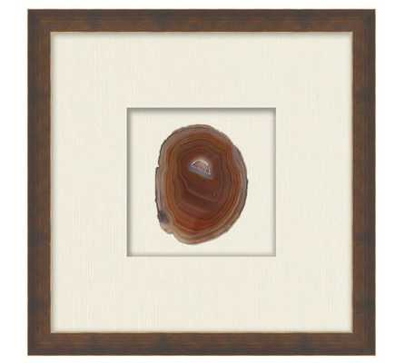 Natural Agate Shadow Box - Framed - Pottery Barn