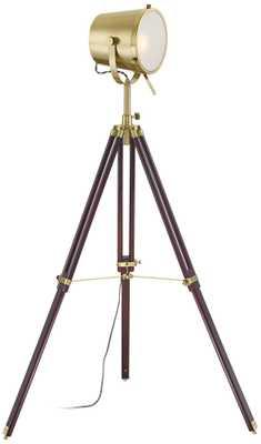 Possini Euro Markus Tripod Director's Floor Lamp - Lamps Plus