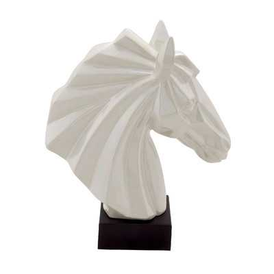 Ceramic Horse Bust - Wayfair