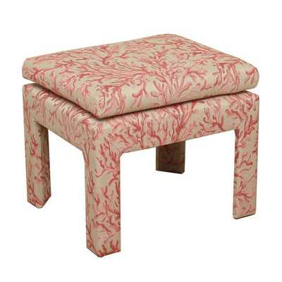 Coral Upholstered Decorative Benchby HomePop - Wayfair