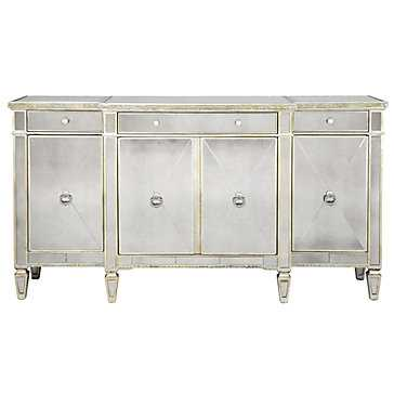 Borghese Mirrored Buffet - Z Gallerie