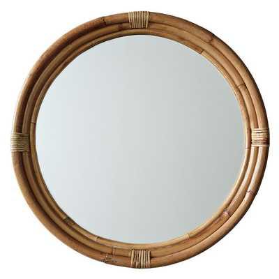 Montara Mirror - Small - Domino