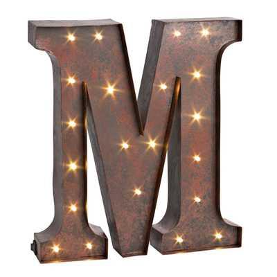LED Lighted Metal Letterby Sterling Inc - Wayfair
