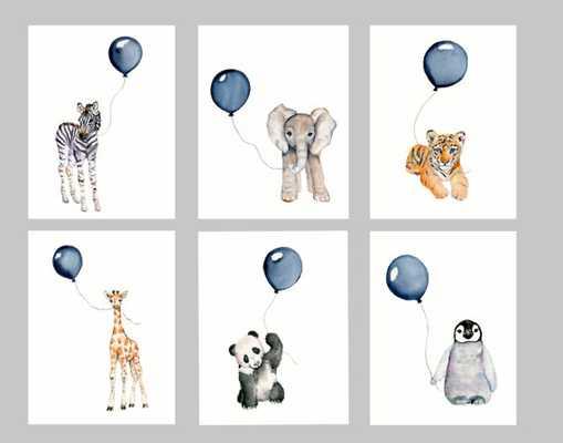 Nursery print set - Etsy