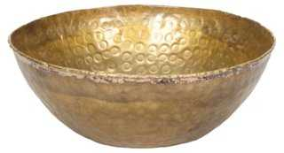 Round Hammered Bowl - One Kings Lane