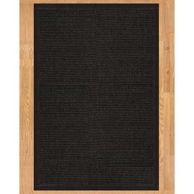 Handcrafted Torino 10' x 14' Sisal Rug - Black - Overstock