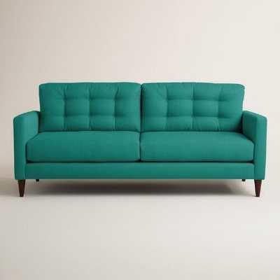 Textured Woven Ryker Upholstered Sofa - World Market/Cost Plus
