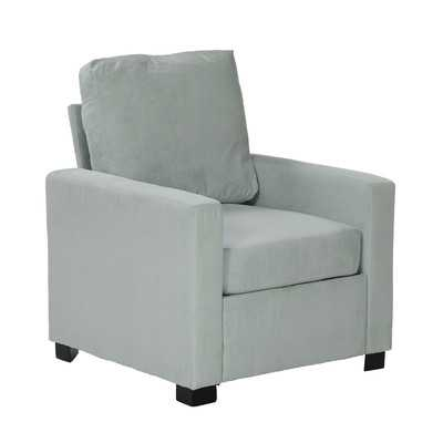 Gracie Arm Chair - Sky Blue - Wayfair