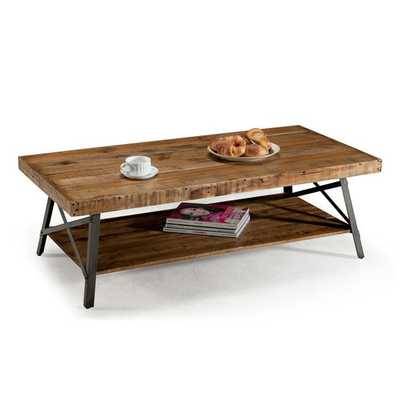 Emerald Chandler Reclaimed Wood Cocktail Table - Overstock