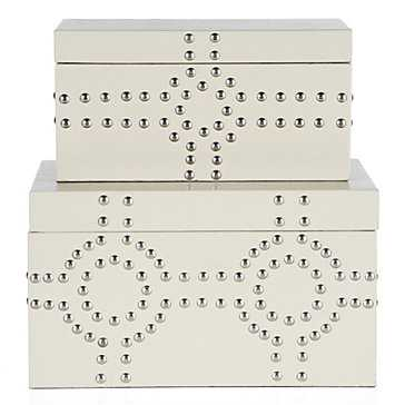 Bodega Storage Boxes Set of 2 - Z Gallerie