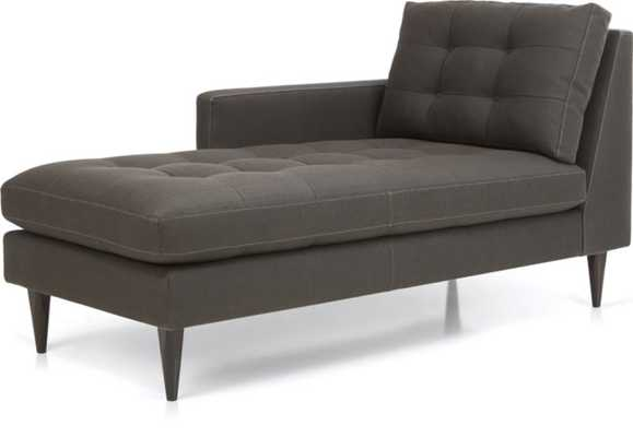 Petrie Left Arm Chaise Lounge - Crate and Barrel