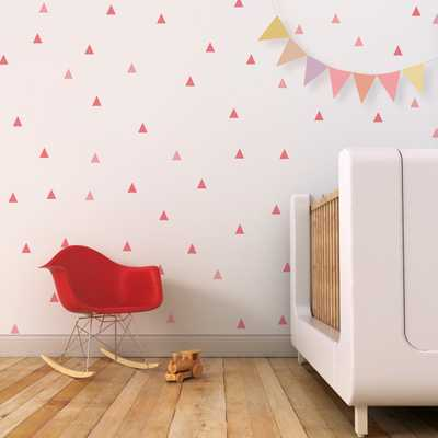 Triangle Wall Decal Little Peaks - Etsy
