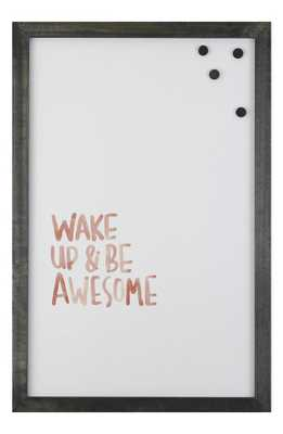 Petal Lane 'Wake Up & Be Awesome' Magnet Board - Nordstrom