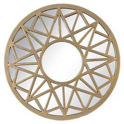 "Thresholdâ""¢ Geometric Star - Gold 20"" - Target"