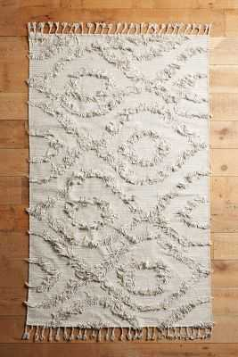 Diamond Shag Rug - Anthropologie