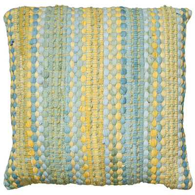 Braided Altair Decorative Cotton Throw Pillow - insert included - Wayfair