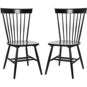 Parker Dining Chair, Set of 2 – Black - Domino