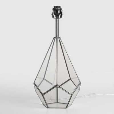 Glass Terrarium Table Lamp Base - World Market/Cost Plus