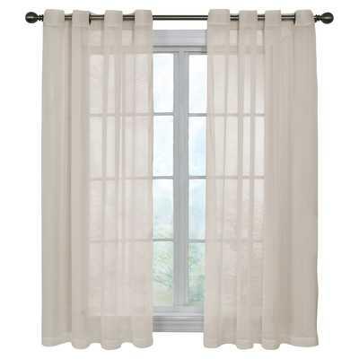 """Pinole Point Single Curtain Panel 84"""" - Wayfair"""